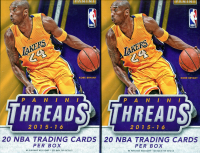 Lot of (2) 2015-16 Panini Threads Basketball Hanger Boxes at PristineAuction.com