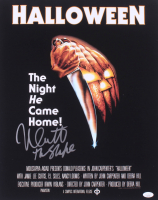 """Nick Castle Signed """"Halloween"""" 16x20 Photo Inscribed """"The Shape"""" (JSA COA) at PristineAuction.com"""