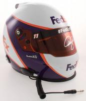 Denny Hamlin Signed NASCAR FedEx Full-Size Helmet (PA COA) at PristineAuction.com