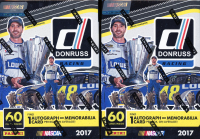 Lot of (2) 2017 Panini Donruss Racing Blaster Boxes at PristineAuction.com