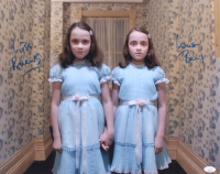 "Lisa Burns & Louise Burns Signed ""The Shining"" 16x20 Photo (JSA COA) at PristineAuction.com"