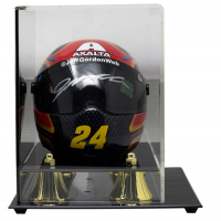 Jeff Gordon Signed Axalta Racing Mini Helmet with High-Quality Display Case (Sports Integrity COA) at PristineAuction.com