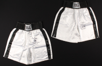 Lot of (2) Tim Witherspoon Signed Everlasting Boxing Trunks (Schwartz COA) at PristineAuction.com