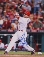 Joey Votto Signed Reds 11x14 Photo (JSA COA) at PristineAuction.com