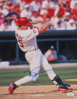 Mark McGwire Signed Cardinals 11x14 Photo (JSA COA) at PristineAuction.com
