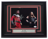 Kane Signed WWE 16x20 Custom Framed Photo Display (JSA COA) at PristineAuction.com