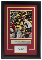 Patrick Mahomes Chiefs 11x18 Custom Framed Photo Display at PristineAuction.com