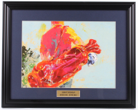 "Leroy Neiman ""The Golfer"" 18x24.5 Custom Framed Print Display at PristineAuction.com"
