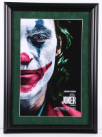 """Joker"" 16x22 Custom Framed Movie Poster Display at PristineAuction.com"