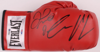 Floyd Mayweather Jr. & Conor McGregor Signed Everlast Boxing Glove (Beckett COA & PSA COA) at PristineAuction.com