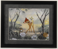 "Walt Disney's Goofy LE ""Bambi"" 16x19 Custom Framed Animation Serigraph Display with (2) Pins at PristineAuction.com"