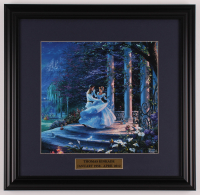 "Thomas Kinkade ""Cinderella"" 18x18.5 Custom Framed Print Display at PristineAuction.com"