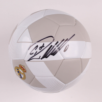 Cristiano Ronaldo Signed Adidas Real Madrid CF Logo Soccer Ball (Beckett COA) at PristineAuction.com