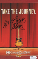 Robert Stanley Signed 2005 Grand Ole Opry Program (JSA COA) at PristineAuction.com