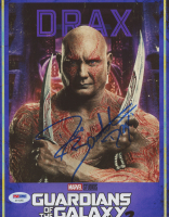 "Dave Bautista Signed ""Guardians of the Galaxy Vol. 2"" 8x10 Photo Inscribed ""Drax"" (PSA Hologram) at PristineAuction.com"