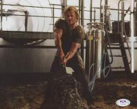 "Chris Hemsworth Signed ""Thor"" 8x10 Photo (PSA Hologram) at PristineAuction.com"