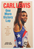 "Carl Lewis Signed ""One More Victory Lap"" Paperback Book (PSA COA) at PristineAuction.com"