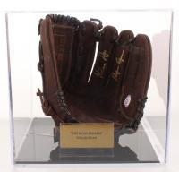 "Nolan Ryan Signed Rawlings Baseball Glove Inscribed ""Ryan Express"" with Display Case (PSA COA) at PristineAuction.com"