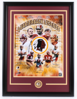 "Redskins ""Quarterback Legends"" 22.5x29.5 Custom Framed Photo Display Signed by (5) with Joe Theismann, Sonny Jurgensen, Doug Williams with Multiple Inscriptions (JSA Hologram) at PristineAuction.com"