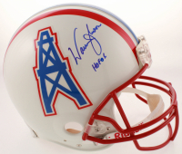 "Warren Moon Signed Oilers Full-Size Authentic On-Field Helmet Inscribed ""HOF 06"" (JSA COA) at PristineAuction.com"