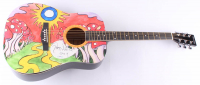 """Gregg Allman Signed Acoustic Guitar Inscribed """"2014"""" (PSA LOA) at PristineAuction.com"""