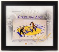 "Kobe Bryant Lakers ""Laker For Life"" 15x17 Custom Framed Display at PristineAuction.com"