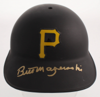 Bill Mazeroski Signed Pirates Full-Size Batting Helmet (TSE COA) at PristineAuction.com