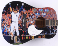 "Derek Jeter Signed Yankees 41"" Custom Acoustic Guitar (PSA Hologram) at PristineAuction.com"