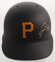 Josh Bell Signed Pirates Authentic On-Field Full-Size Batting Helmet (TSE COA) at PristineAuction.com