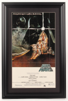 """Star Wars Episode IV: A New Hope"" 16x24 Custom Framed Movie Poster Display at PristineAuction.com"