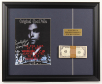 "Henry Hill Signed ""The Goodfellas"" 17.5x21.5 Custom Framed Photo Display with Movie Prop Money (PSA COA) at PristineAuction.com"