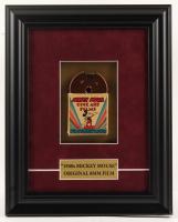 "Vintage ""Mickey Mouse"" 10x12.5 Custom Framed 1940s Vintage 8mm Film Reel Display at PristineAuction.com"