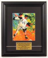 "LeRoy Neiman ""Joe DiMaggio"" 13x15.5 Custom Framed Print Display at PristineAuction.com"