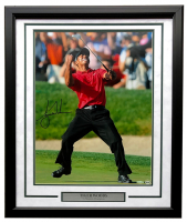Tiger Woods Signed 22x27 Custom Framed Photo Display (UDA COA) at PristineAuction.com