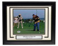 "Adam Sandler Signed ""Happy Gilmore"" 11x14 Custom Framed Photo Display (PSA COA) at PristineAuction.com"