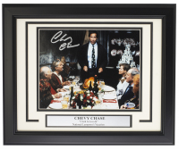 """Chevy Chase Signed """"National Lampoon's Christmas Vacation"""" 11x14 Custom Framed Photo (Beckett COA) at PristineAuction.com"""