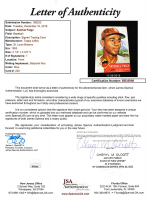 Satchel Paige Signed 1953 Topps #220 (JSA LOA) at PristineAuction.com