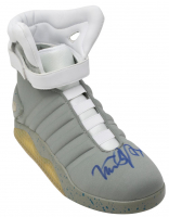 "Michael J. Fox Signed Self-Lacing ""Back to the Future"" Replica Shoe (PSA COA & Beckett COA) at PristineAuction.com"
