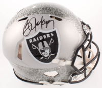 Bo Jackson Signed Raiders Full-Size Authentic On-Field Hydro Dipped Speed Helmet (Beckett COA) at PristineAuction.com