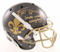 "Ricky Williams Signed Saints Full-Size Authentic On-Field Hydro-Dipped Helmet Inscribed ""Smoke Weed Everyday!"" (JSA COA) at PristineAuction.com"