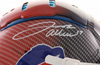 Josh Allen Signed Bills Full-Size Authentic On-Field Hydro-Dipped F7 Helmet (JSA COA) at PristineAuction.com
