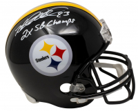 "Rod Woodson Signed Steelers Full-Size Helmet Inscribed ""2x SB Champs"" (Beckett COA & TSE Hologram) at PristineAuction.com"