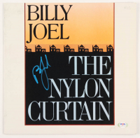 """Billy Joel Signed """"The Nylon Curtain"""" Vinyl Record Album Cover (PSA Hologram) at PristineAuction.com"""