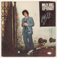 "Billy Joel Signed ""52nd Street"" Vinyl Record Album Cover (PSA Hologram) at PristineAuction.com"