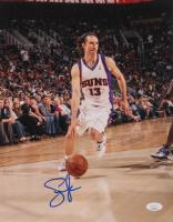 Steve Nash Signed Suns 11x14 Photo (JSA COA) at PristineAuction.com