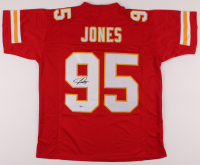 Chris Jones Signed Jersey (Beckett COA) at PristineAuction.com