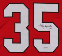 Tony Esposito Signed Jersey (Beckett COA) at PristineAuction.com