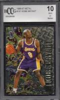 Kobe Bryant 1996-97 Fleer Metal #161 (BCCG 10) at PristineAuction.com