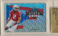 Chase Young 2020 Leaf Metal Draft Pre-Production State Pride Mojo Silver (Leaf Encapsulated) at PristineAuction.com