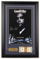 "Henry Hill Signed ""The Goodfellas"" 17.5x26.5 Custom Framed Movie Poster Display With Prop Money (PSA COA) at PristineAuction.com"